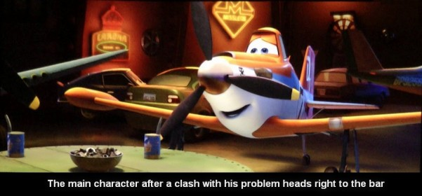 planes Fire and rescue implication 9 601x280 custom The analysis of the cartoon «Planes: fire and rescue»