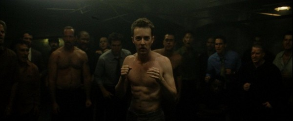 "fight club 1 The movie ""Fight Club"" (1999): Be courageous to suicide"