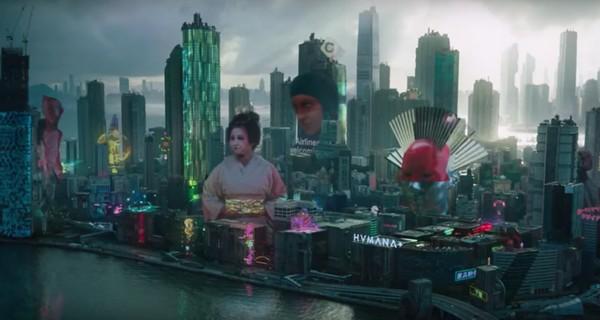 film prizrak v dospehah 2017 prodvizhenie ideologii transgumanizma 4 Ghost in the Shell (2017) Promotion the ideology of transhumanism