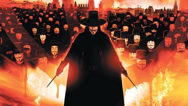 v znachit vendetta 2005 glamurnyiy terror kotoryiy vedyot v nikuda 1 The movie V for Vendetta (2005): A glamorous terror, which leads to nowhere