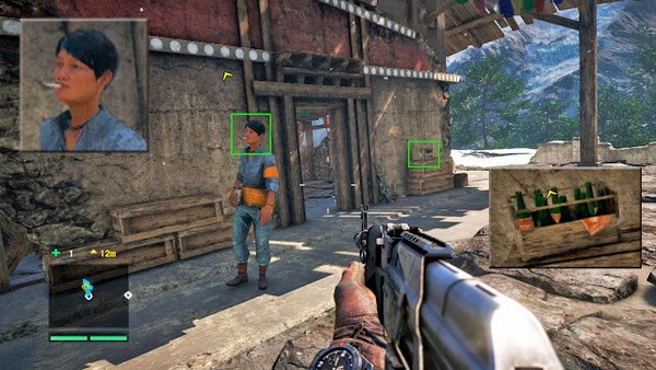 "far cry 10 Gamer manipulation technologies on an example of the game ""Far Cry 4"""