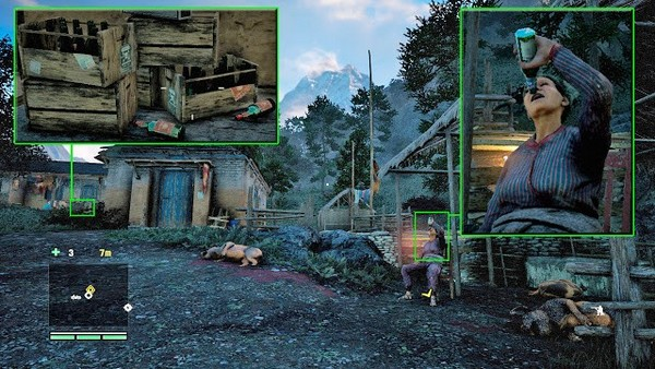 "far cry 18 Gamer manipulation technologies on an example of the game ""Far Cry 4"""