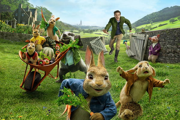 Peter Rabbit 11 The film Peter Rabbit (2018): Fluffy thieves and murderers
