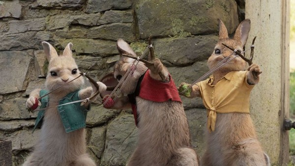 Peter Rabbit 5 The film Peter Rabbit (2018): Fluffy thieves and murderers