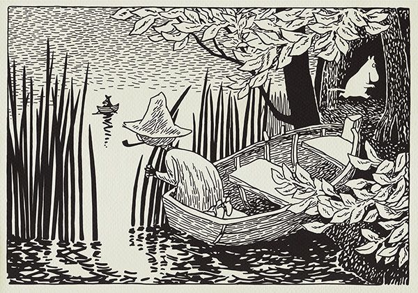 moomin 2 Moomin trolls by Tove Jansson   harmful childrens literature