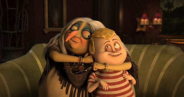 "semeyka addams 3 ""The Addams Family"": Cartoon for the glory of death"